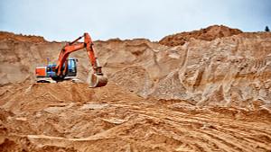 Песок карьерный (строительный)